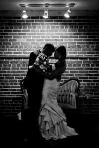 Sloan wedding couple silhouette
