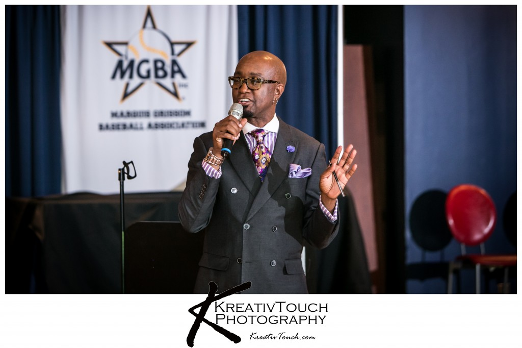 Master of Ceremonies for the evening renowned Comedian Mister Jonathan Slocumb