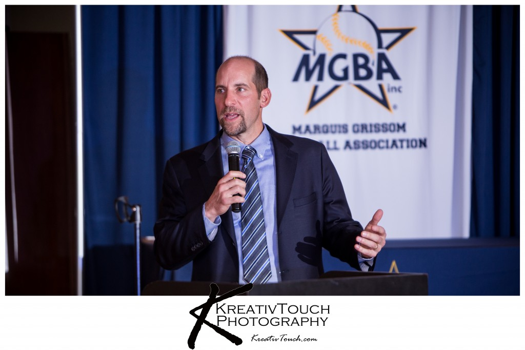 John Smoltz-Former Atlanta Braves Pitcher; 1995 World Series Champion, 96 Cy Young Award winner , 7 time All Star, 2005 Roberto Clemente award, # retired in 2012.